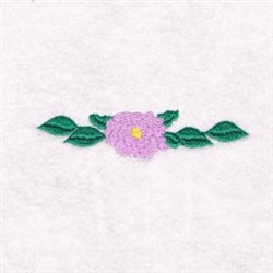 A Flower embroidery design
