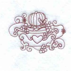 Redwork Bubble Bath embroidery design