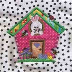 Easter Applique embroidery design