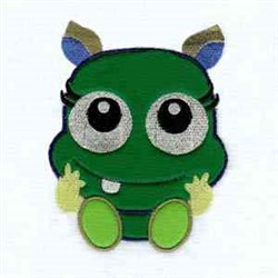 Funny Monster embroidery design