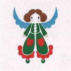 Xmas Angel embroidery design