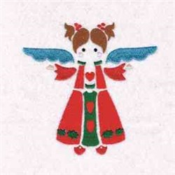 International Xmas Angels embroidery design
