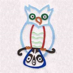 Native Owls embroidery design