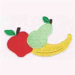 Old Mother Hubbard Fruit embroidery design