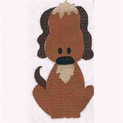 Mother Hubbard Dog embroidery design