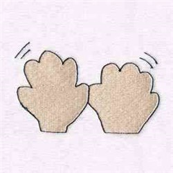 Patty Cake Hands embroidery design