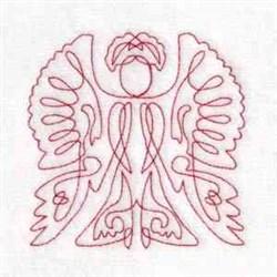 Angel RW embroidery design