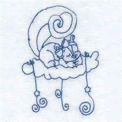 Sleepy Squirrels embroidery design