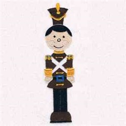 Toy Soldier embroidery design