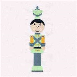 Toy Soldier Man embroidery design