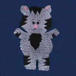 Small Kitten embroidery design