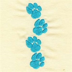 Tiger Tracks embroidery design