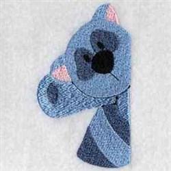 Raccoon Pocket embroidery design