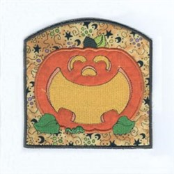 Bag Pumpkin Applique embroidery design