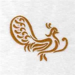Decoration Bird embroidery design