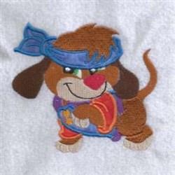 Headband Puppy embroidery design