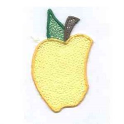 Autumn Welcome Left Apple embroidery design