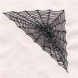 Halloween Web Corner embroidery design