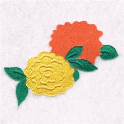 Flowers Border embroidery design