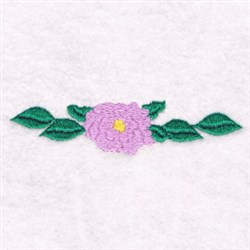 Border Flower embroidery design