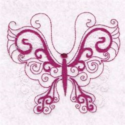 Butterfly Beauty embroidery design