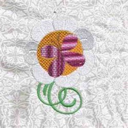 Sunflower Butterfly embroidery design