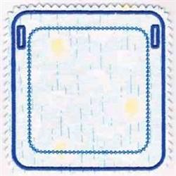Square Banner embroidery design