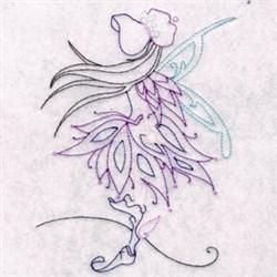 Bonnet Pixie embroidery design