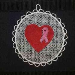 Sun Catcher Ribbon embroidery design
