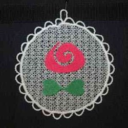 Sun Catcher Flower embroidery design