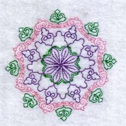 Color Circle Decoration embroidery design