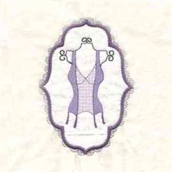Frame Lovely Corset embroidery design