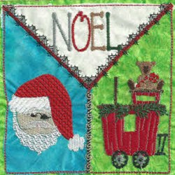 Noel Quilt embroidery design