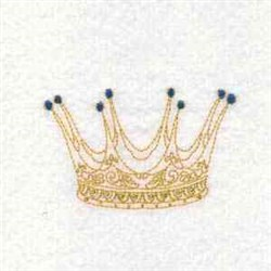Royal King embroidery design