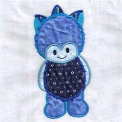 Little Monster embroidery design