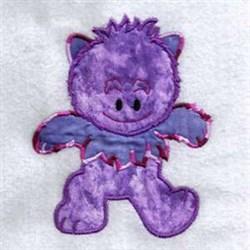 Monster Applique embroidery design