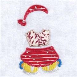 Bear Skirt embroidery design