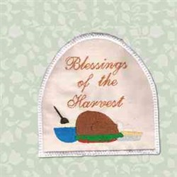 Blessings Towel Topper embroidery design