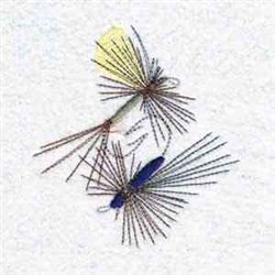 Fly Lure embroidery design