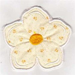 Welcome Banner Flower embroidery design
