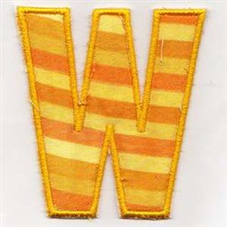 Welcome Banner W embroidery design