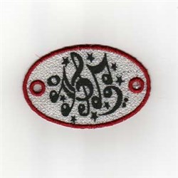 FSL Hair Music embroidery design