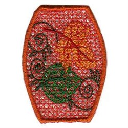 FSL Pumpkin Tea Light Side embroidery design