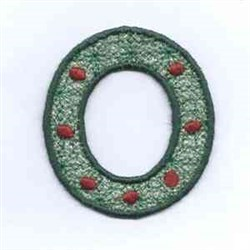 FSL Sleigh Wreath embroidery design