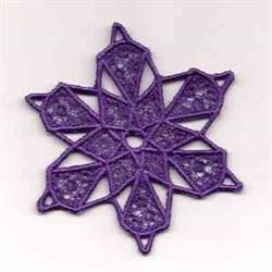 FSL Snowflake Purple embroidery design