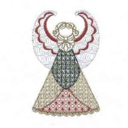 Red Fairy Dress embroidery design