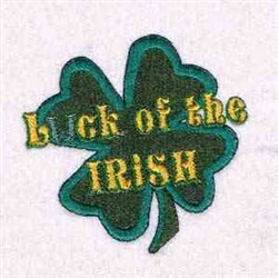 Luck Of Irish embroidery design