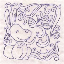 Haoliday Easter Bunny embroidery design