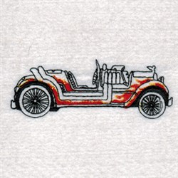 Hot Rods Wagon embroidery design