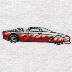 Hot Rods Automobile embroidery design